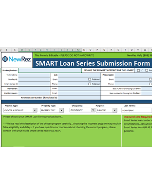 SMART Series Submission Form